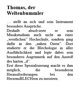 Text Thomas als Grafik
